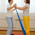 Physiotherapie am Patienten