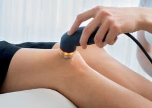 Ultraschalltherapie im Einsatz