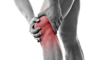 Grafische Darstellung von Knieschmerzen