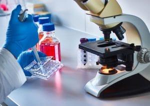 Medizinische Grafik: Tissue Engineering Prinzip