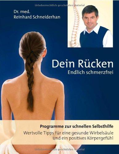 Buchcover: Dein Rücken - Endlich Schmerzfrei